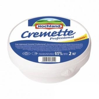 Сыр Креметте Cremette Professional 65% жирн 2 кг