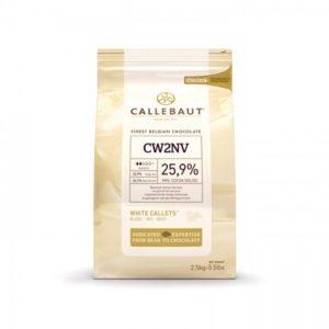 Белый Бельгийский Шоколад 25.9% Barry Callebaut 0.5 кг