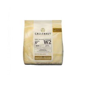 Белый Бельгийский Шоколад 28% Barry Callebaut 0.4 кг