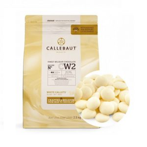 Белый бельгийский шоколад 25.9% Barry Callebaut 2,5 кг