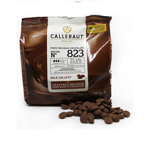 Бельгийский молочный шоколад 33,6% Barry Callebaut 0.4 кг