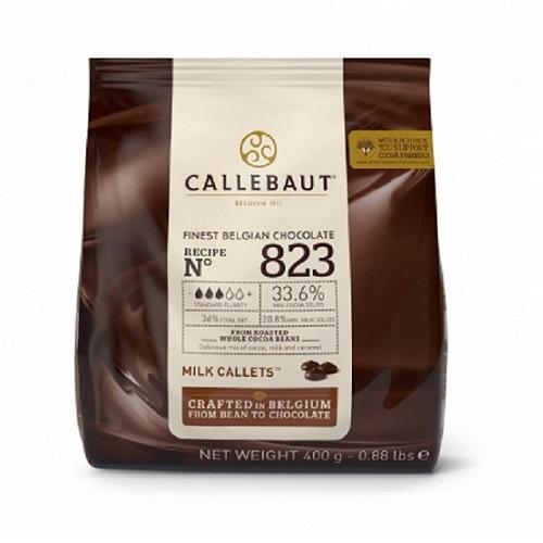 Бельгийский молочный шоколад 33,6% Barry Callebaut 0.5 кг