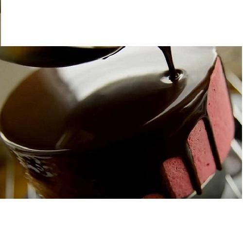 Глазурь зеркальная с какао 1 кг