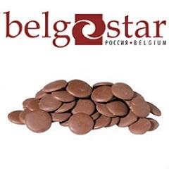 Глазурь шоколадная молочная Belgostar 0.5 кг