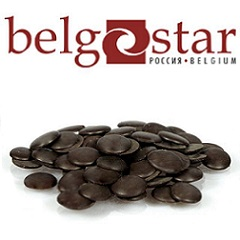 Глазурь шоколадная темная Belgostar 20 кг