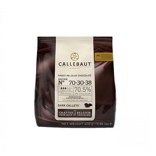 Горький Бельгийский Шоколад 70,5 % Barry Callebaut 0.4 кг