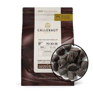 Горький бельгийский шоколад 70.5% Barry Callebaut 2,5 кг