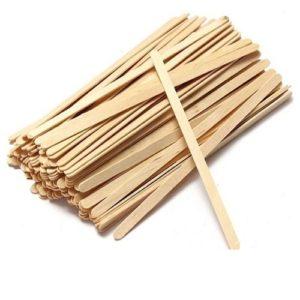 Деревянные палочки для мороженого 14 см 100 шт