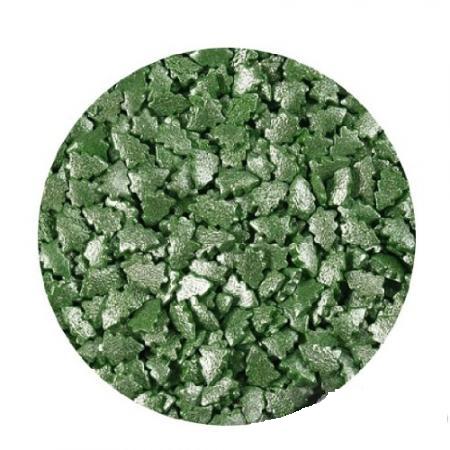Елки зеленые перламутровые 100 гр