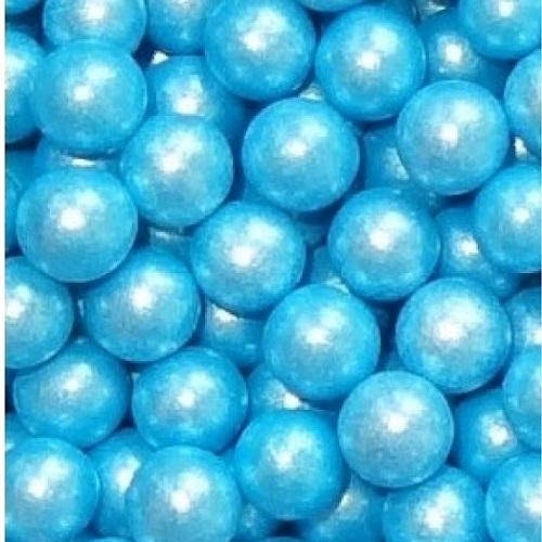 Жемчуг сахарный Голубой перламутр 10 мм
