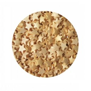 Звезды Золотой перламутр 100 гр