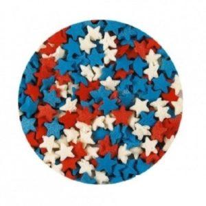 Звезды красно-бело-синие 100 гр