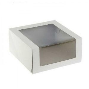 Кондитерская упаковка с окном Pasticciere 22,5х22,5х11 см
