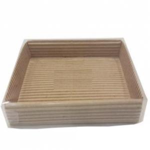 Кондитерская упаковка с пластиковой крышкой, 14х10,5х2,5 см