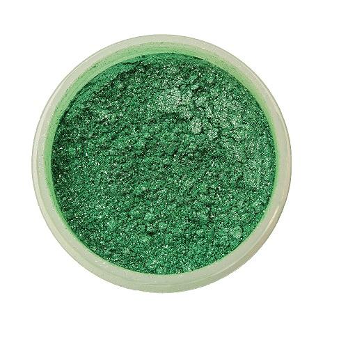 Краситель перламутровый сухой Candurin зелёный 5гр