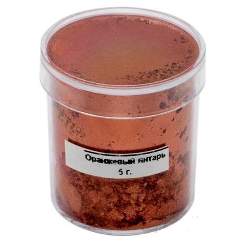 Краситель перламутровый сухой Candurin оранжевый янтарь 5гр