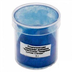 Краситель перламутровый сухой Candurin синий 5 гр