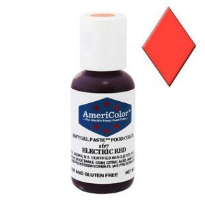 Краситель пищевой AmeriColor Electric red (Красный электрик) 21 гр