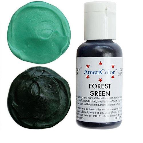 Краситель пищевой AmeriColor Forest Green (Зеленый лес) 21 гр