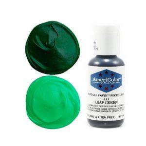 Краситель пищевой AmeriColor Leaf Green (Зеленый лист) 21 гр