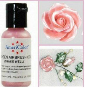 Краситель пищевой AmeriColor Pink Sheen (Сияющий розовый) 19 гр