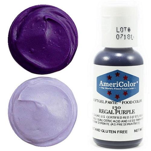 Краситель пищевой AmeriColor Regal Purple (Королевский фиолетовый) 21 гр