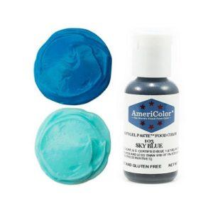 Краситель пищевой AmeriColor Sky Blue (Небесно голубой) 21 гр