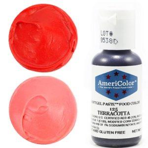 Краситель пищевой AmeriColor Terracotta (Терракотовый) 21 гр