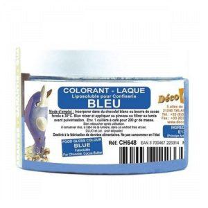 Краситель сухой жирорастворимый Deco Relief Синий 20 гр