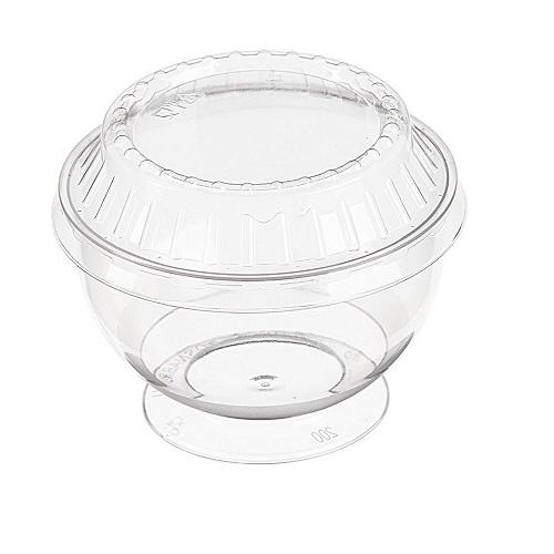 Креманка Ramekin пластик с крышкой 200 мл, 1 шт.