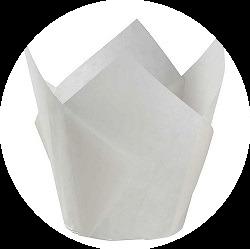 маффина Тюльпан белый