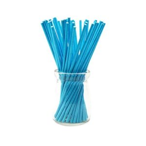 Палочки для кейк-попсов синие 10 см 50 шт