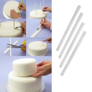 Палочки для укрепления ярусов торта 4 шт