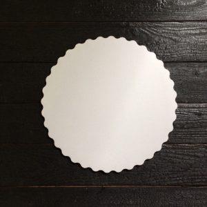 Подложка белая с ажурным краем 3,5мм d 32 см