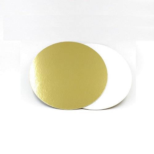 Подложка золото/жемчуг усиленная 3.2 мм d 22 см