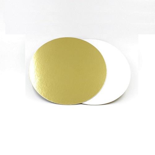Подложка золото/жемчуг усиленная 3,2мм d 24 см