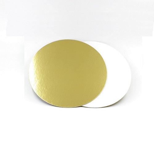 Подложка золото/жемчуг усиленная 3,2мм d 26 см