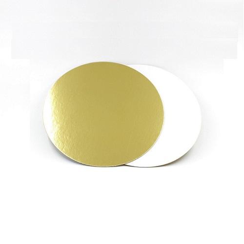 Подложка золото/жемчуг усиленная 3,2мм d 28 см