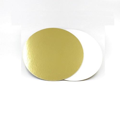 Подложка золото/жемчуг усиленная 3,2мм d 32 см