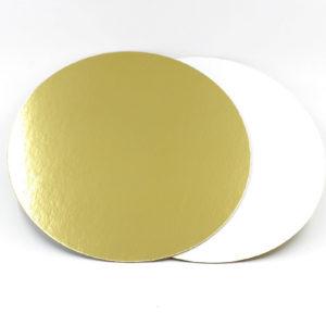 Подложка золото/жемчуг 1,5мм d 18 см
