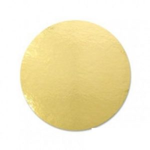 Подложка золото усиленная 2,5мм d 24 см