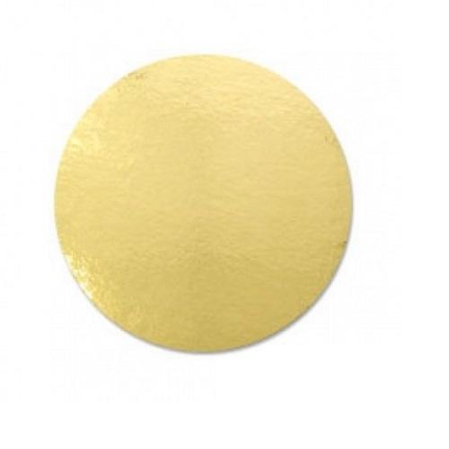 Подложка золото усиленная 2,5мм d 28 см