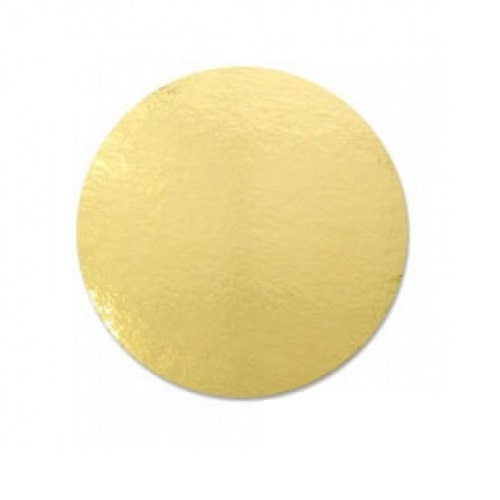 Подложка золото усиленная 2,5мм d 38 см