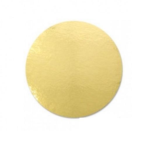 Подложка золото усиленная 2,5мм d 42 см