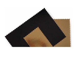 Подложка золото/черный усиленная 3мм 30х40 см