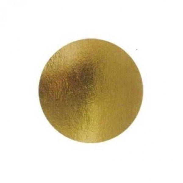 Подложка золото 0,8мм d 24 см
