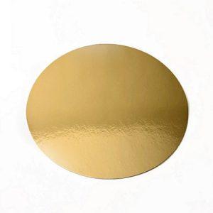 Подложка золото 0,8мм d 8 см