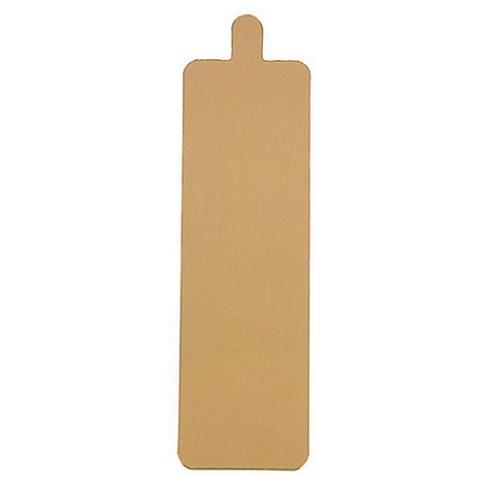 Подложка с держателем золото 0,8мм 13х4 см