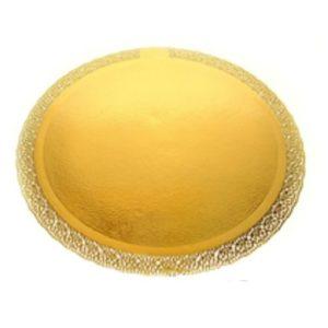 Поднос LEONARDO золото усиленная d 28 см