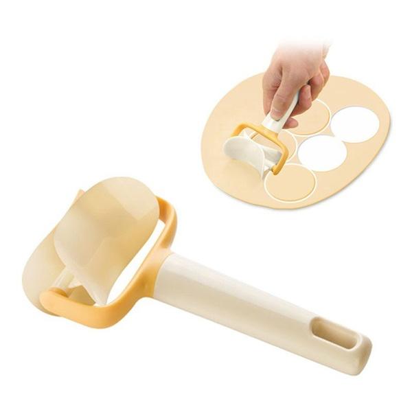Ролик для вырезания кругов из теста и мастика, 1 шт.